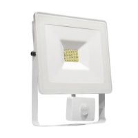 Naświetlacz LED NOTCTIS LUX SMD 120st  230V 10W IP44 NW WALLWASHER white with sensor
